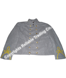 Confederate Officer Shell Jacket